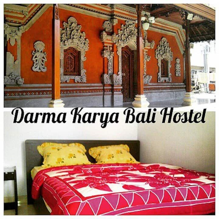Stay in authentic balinese house