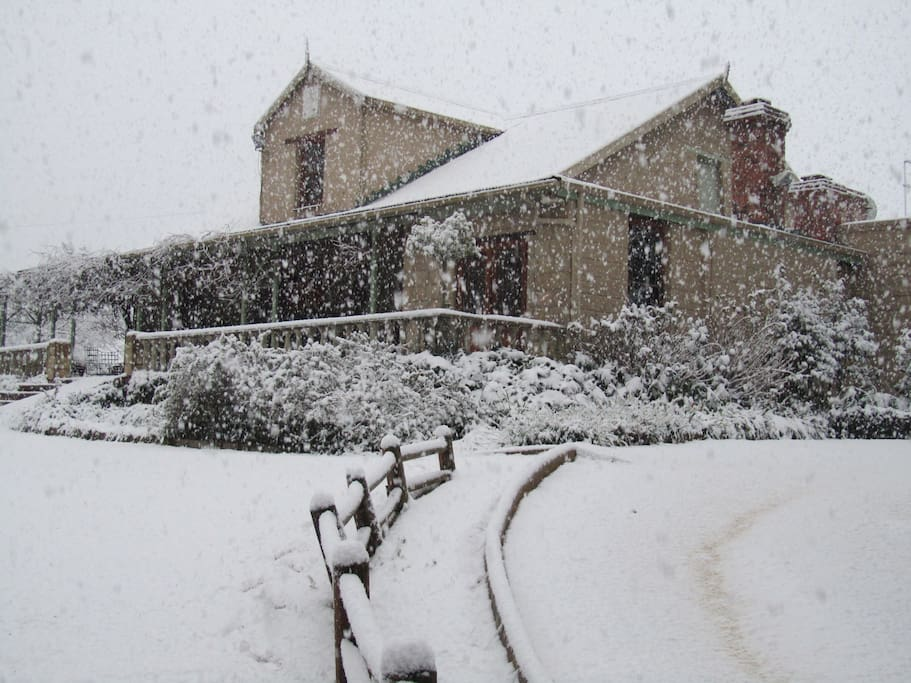 Old Halliwell in Winter