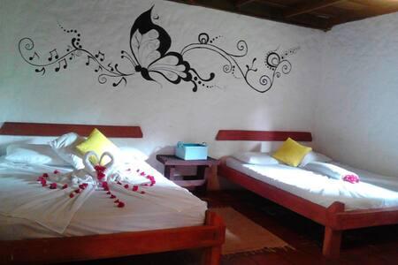 Posada TESORO ARTESANAL habitación2 - La Azulita - Bed & Breakfast