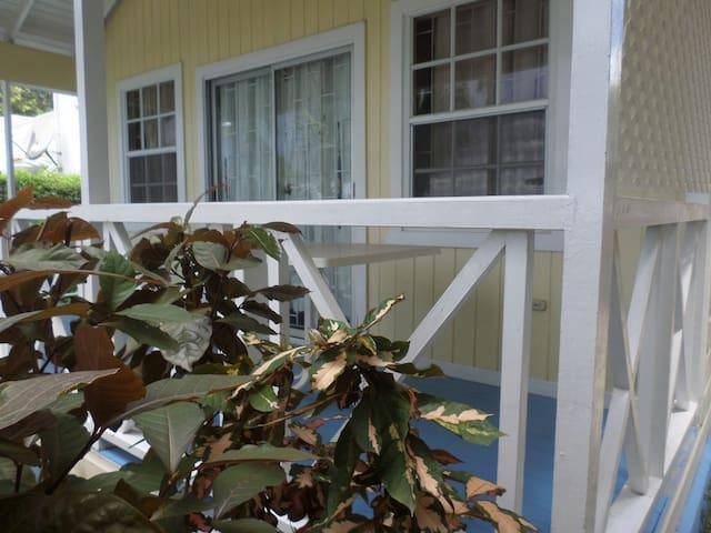 View of the verandah