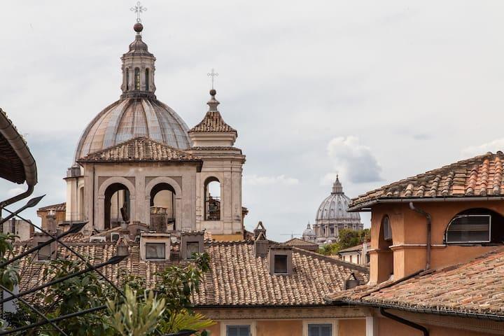Antica mansarda nel cuore di Roma - Roma - Bed & Breakfast
