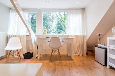 Bright attic with private bathroom - Zeist - Ház