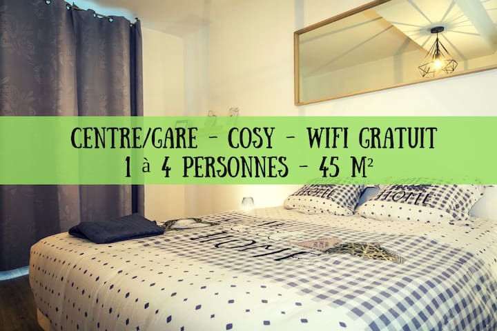 ★CENTRE★WIFI★COSY