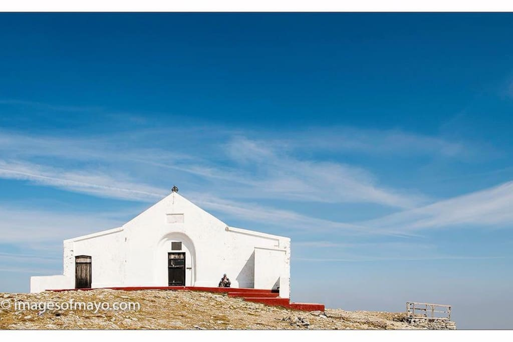 Church on the top of Croagh Patrick...