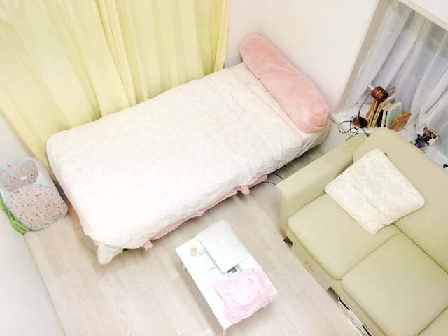 Cozy lovely room in Kichijoii (Girls only) - Musashino-shi - Huoneisto