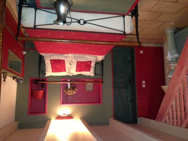 JOLIE CHAMBRE TRIPLE DE 25 m2 calme - Saint-Christol-lès-Alès - Bed & Breakfast