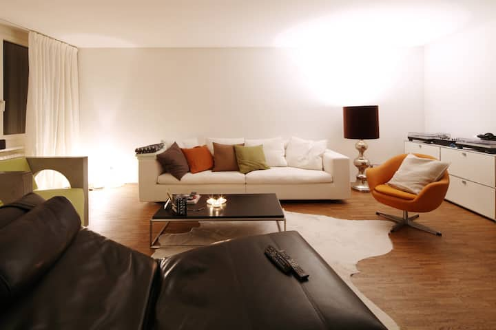 4 rooms in stylish apartment