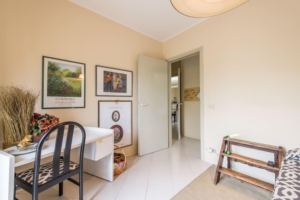 Stanza singola, possibilità letto aggiuntivo/ Singol room with extra bed