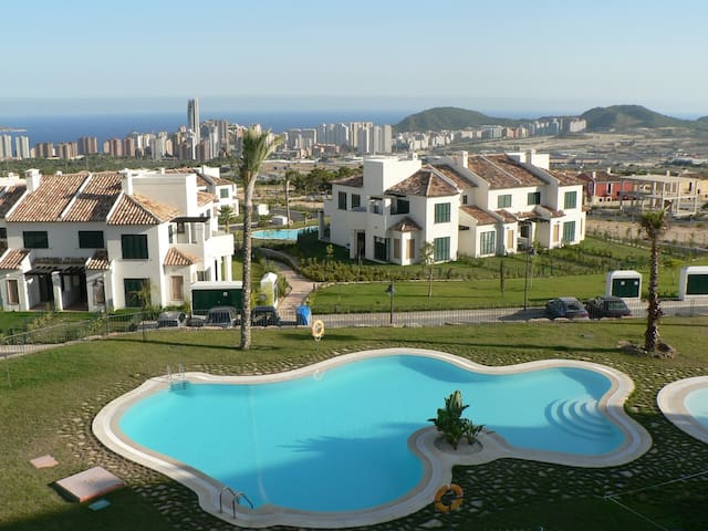 Luxury Apartment with amazing views - Benidorm - Apartament