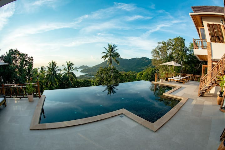 Perfect View Pool Villa 8 people - Ko Tao - Villa