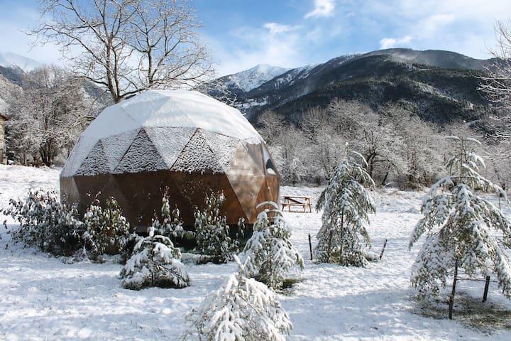 Igloowood, une cabane d'exception - Provence-Alpes-Côte d'Azur - Igloo
