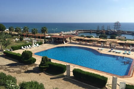 Muhteşem Deniz Manzaralı yazlık - Türkler Belediyesi - 公寓