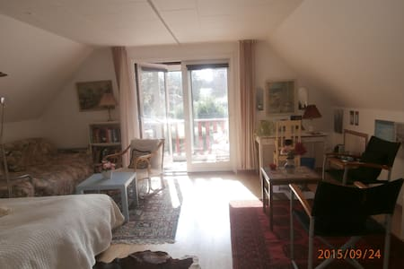 Huge,room with balcony 1h from CPH - Dianalund - Vila
