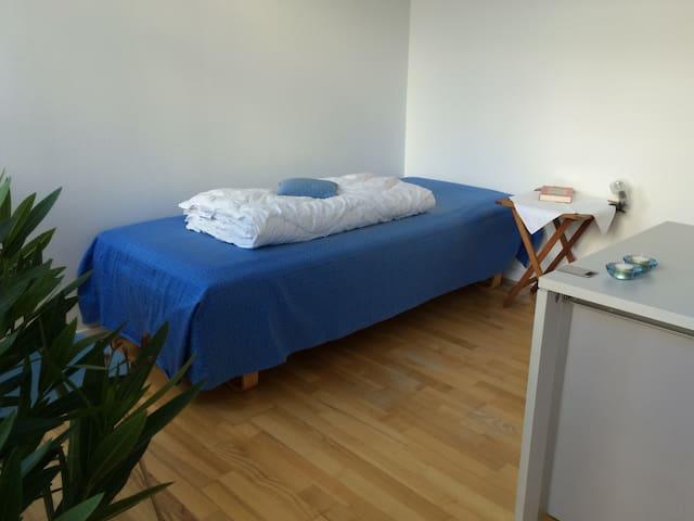 Ekstra lang seng og dyne