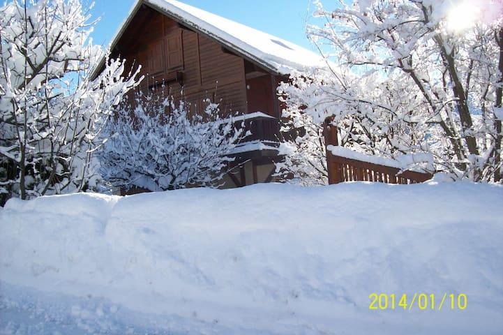 Ski à Puy St Vincent - Les Vigneaux - Hus