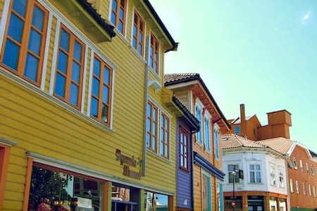 Prettiest street in the very centre of Stavanger - Stavanger - Pis