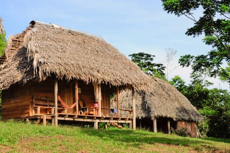 Cabañas in local indigenous ( Ngobe) - Cilico Creek - Cabin