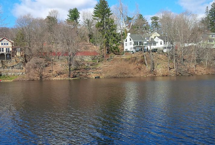 Private Riverfront Greenwich Country Home