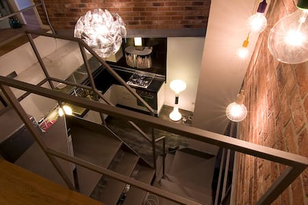 Private room & bathroom in a Loft - Mediolan