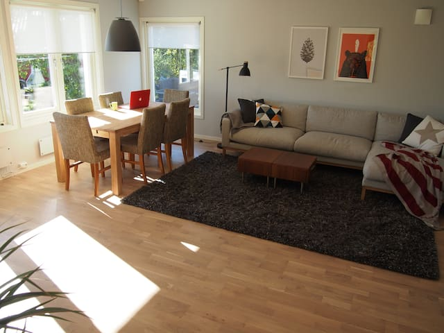 Cozy 2BR near central Oslo. PERFECT for families! - Oslo - Wohnung