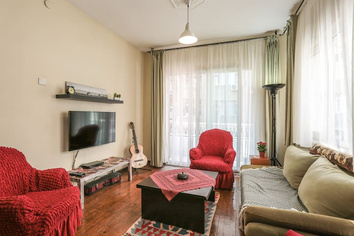 Cozy Apartment / Next to Airport - Bakırköy - Leilighet