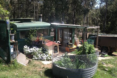 Cosy caravan on 4.2 acres - Narooma