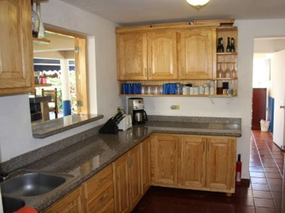 Kitchen updated in 2013 with new cabinets