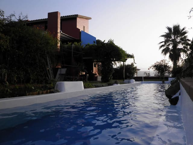 Luxury Villa. Sauna swimming pool - El Sauzal