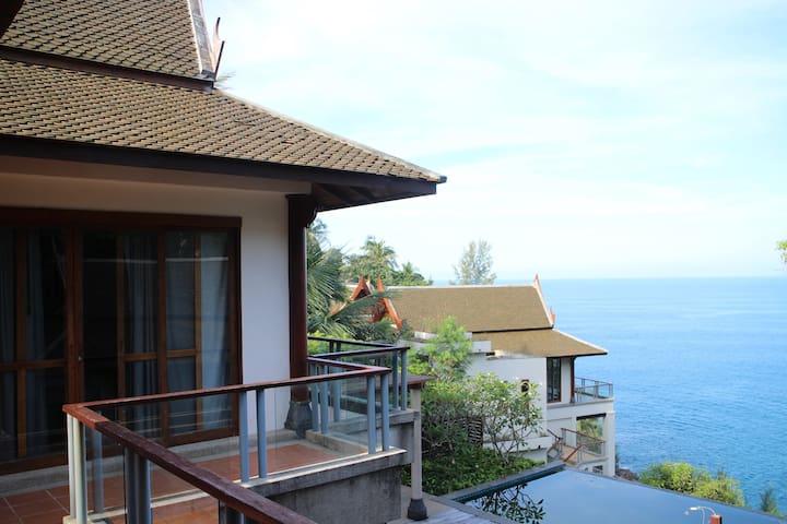ON SALE! Sunset Ocean View+JACUZZII - Phuket - Villa
