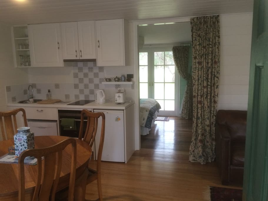 Fully self contained with original farm house features