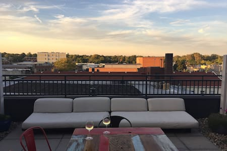 Downtown Rooftop Condo! - Champaign