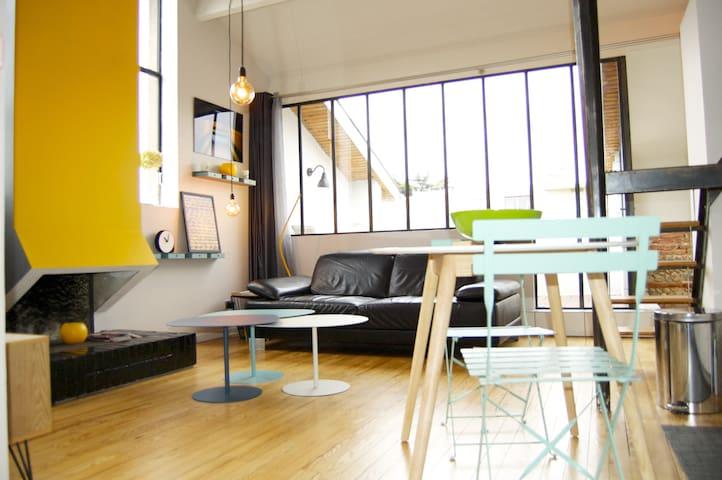 Apart'atelier  avec terrasse et parking