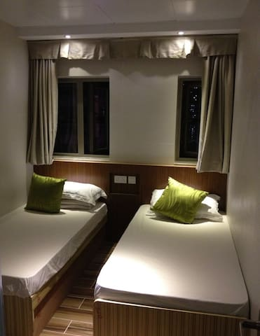 標準双人房  Standard Twin Bed Room
