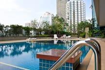 Lap pool & Spa