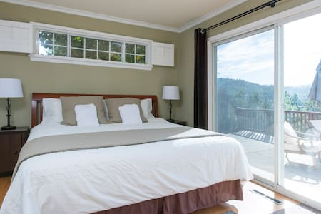 Natural beauty, Safe, Free Parking, Huge Bed +View - 一軒家