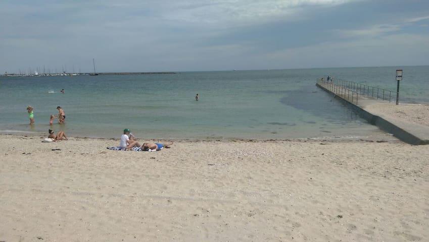Beach/GP track! Walk to St Kilda! - Middle Park - Apartment