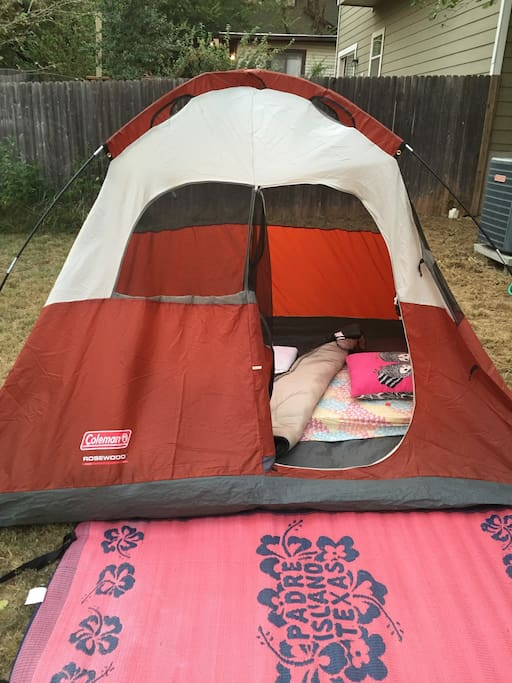 This tent is my older smaller one -- perfect for 1 :)