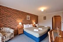 This is the type of room on offer however may only have 1x Queen bed, but may have 2 beds.