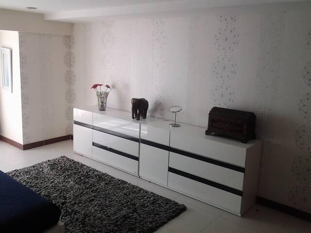 Huge separate bedroom