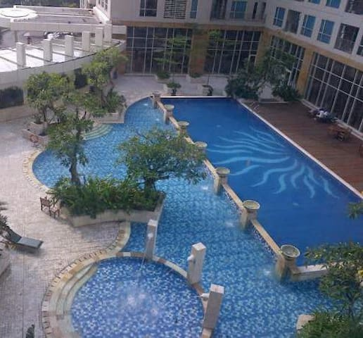 Swimming pool for adults and children