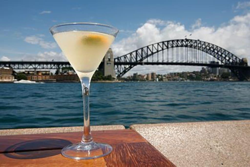 Enjoy a drink @ Opera Bar