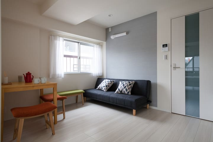 NEW KINSHITYO ROOM(5min from sta) - Sumida-ku - Apartment