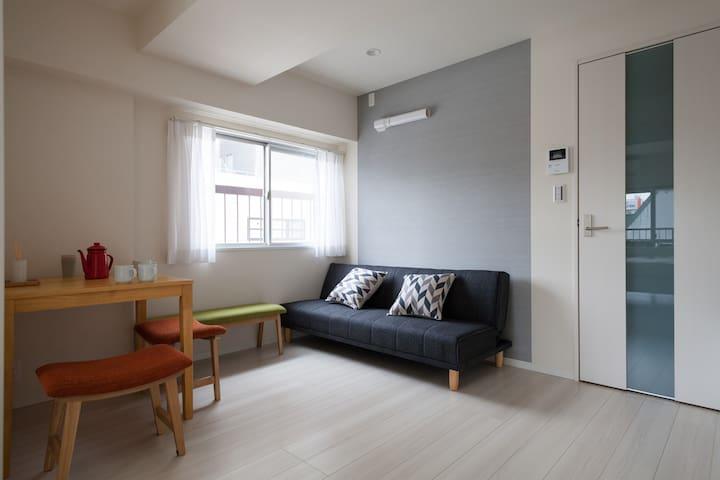 NEW KINSHITYO ROOM(5min from sta) - Sumida-ku - Byt