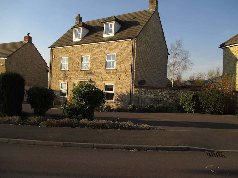 Our town house in Calne