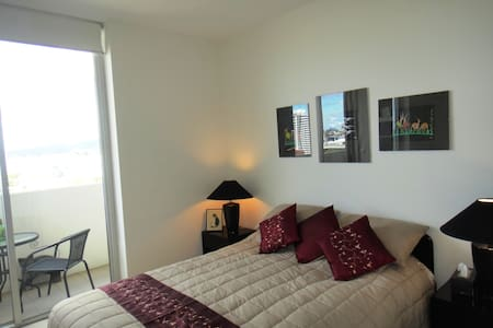 Two bedrooms in a luxury CBD unit