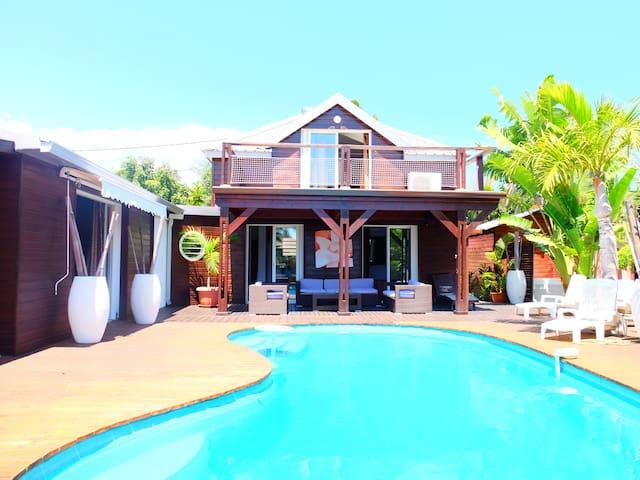 Superbe villa 150m du lagon - Saint-Gilles les Bains - Villa