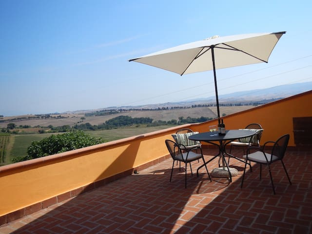 Rosa:  comfort with amazing view - Castelnuovo della Misericordia - Apartment