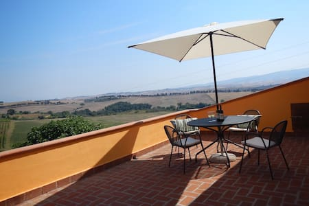 Rosa:  comfort with amazing view - Castelnuovo della Misericordia - อพาร์ทเมนท์