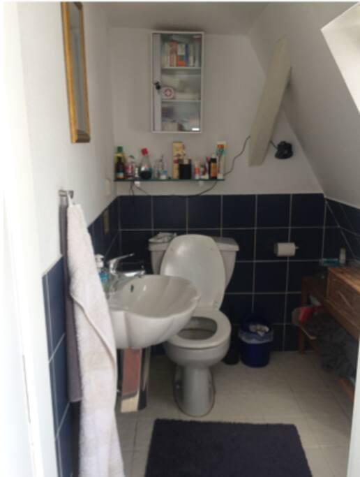 kleines Bad oben / small bath upstairs