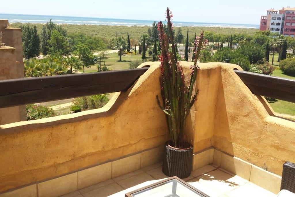 Vista terraza sala